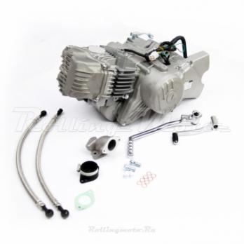 Двигатель в сборе ZS 1P62YML-2 (W190) 188см3, электростартер, запуск на любой передаче