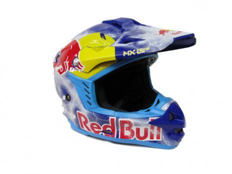 Шлем мотокроссовый MX GP REDBULL