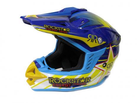 Шлем кроссовый ROCKStar Energy drink