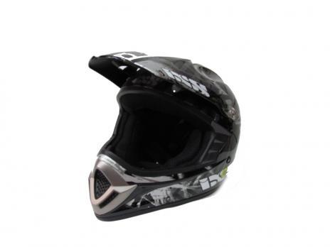 Шлем кроссовый IXS M