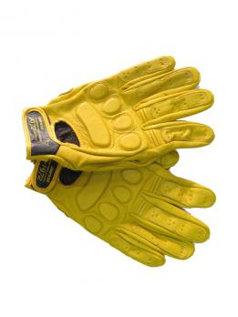 Перчатки Dainese  кожа. жёлтые