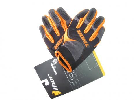 Перчатки Thor оранжевые Spectrum