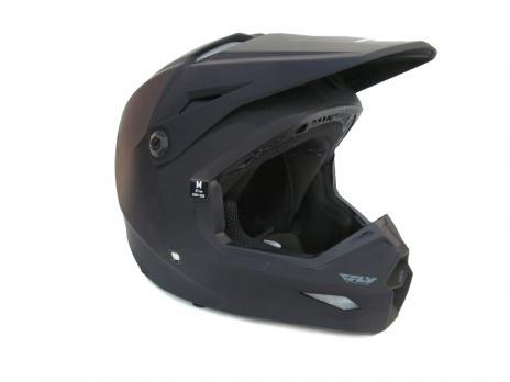 Шлем Fly racing черный